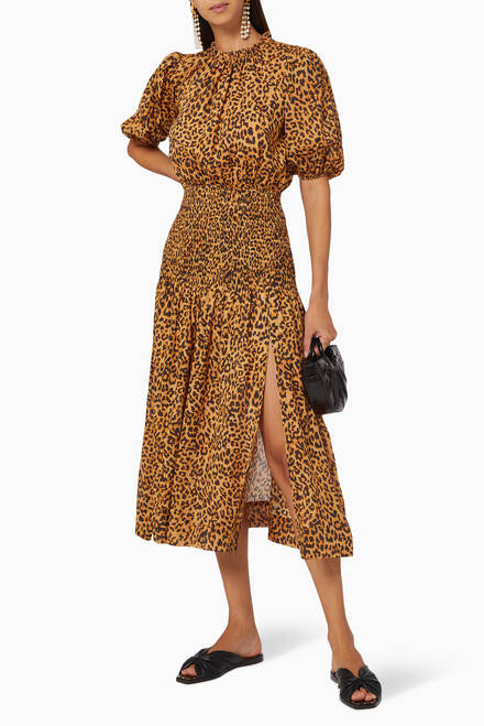 hover state of Lions Den Midi Dress