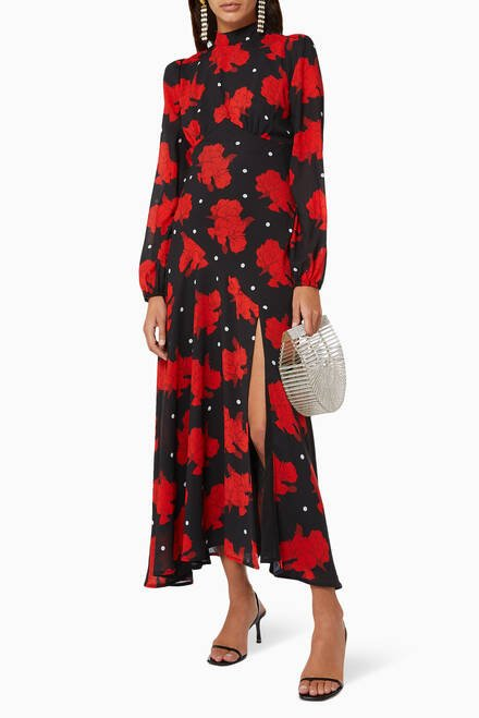 hover state of Clara Floral Dress