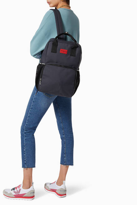 hover state of EA Diaper Bag Backpack in Nylon