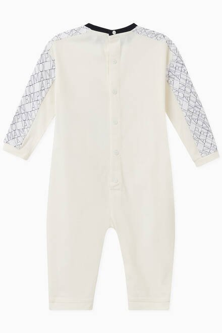 hover state of EA Crossword Cotton Jumpsuit