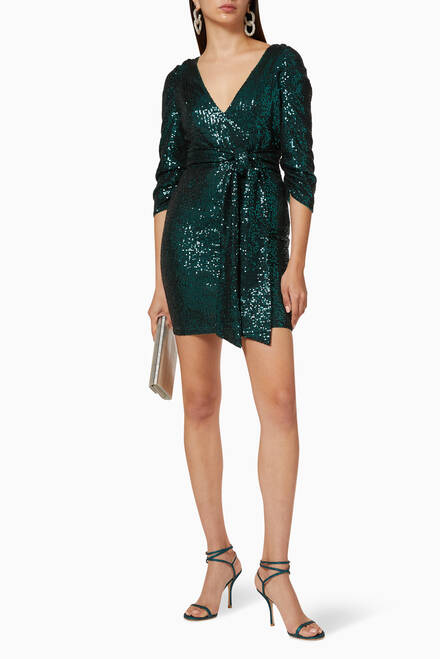 hover state of Alice Sequin Dress