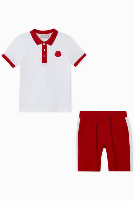 hover state of Polo Shirt & Shorts Set