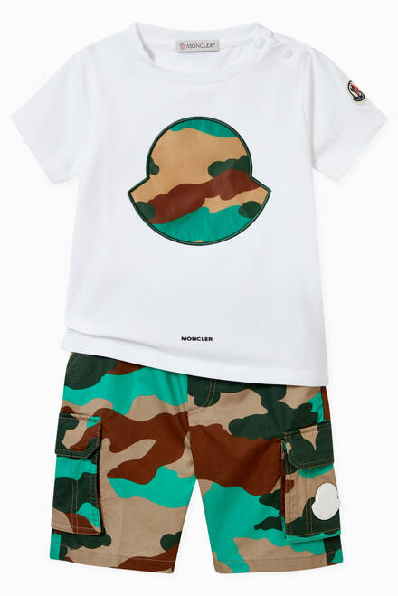 hover state of Camo Graphic Jersey T-shirt in Cotton