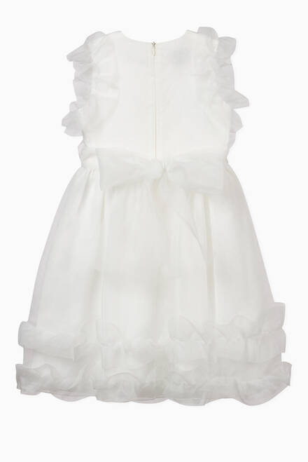 hover state of Floral Organza Dress