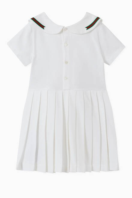 hover state of Interlocking G Cotton Tennis Dress
