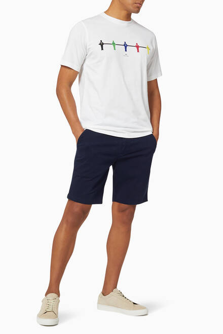 hover state of Stretch Cotton Shorts