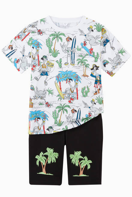 hover state of Palm Organic Cotton Shorts