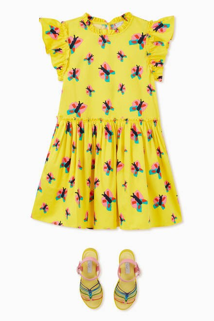 hover state of Butterfly Organic Cotton Dress