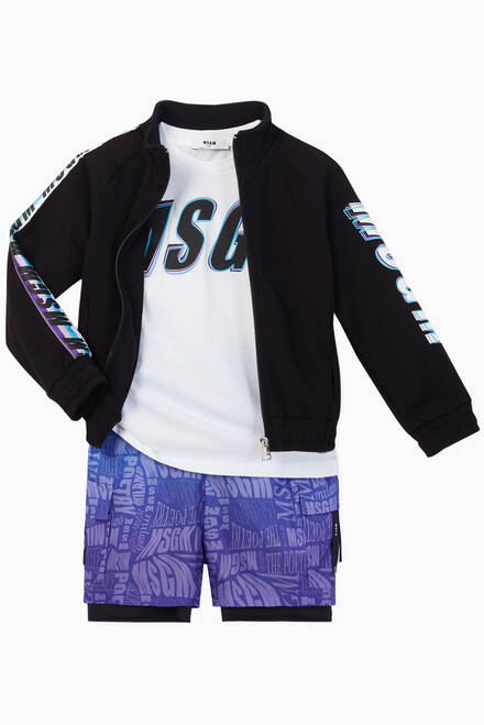hover state of Logo Print Shorts