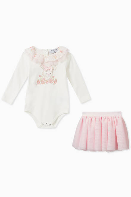 hover state of Newborn Girl Tutu Set, Set of 3