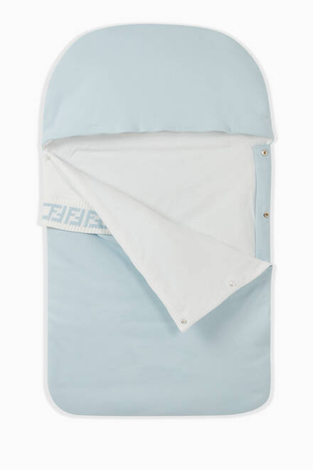 hover state of FF Logo Sleeping Bag in Cotton