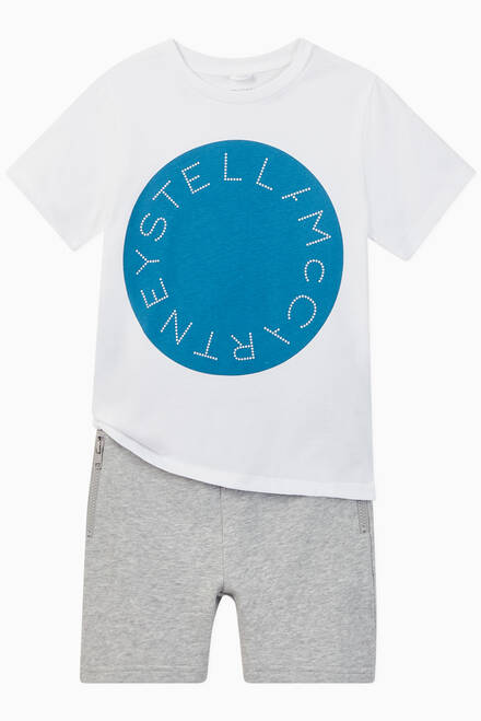 hover state of Stella Logo Organic Cotton T-shirt