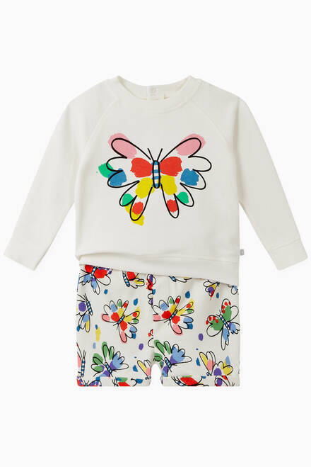 hover state of Butterfly Organic Cotton Sweatshirt
