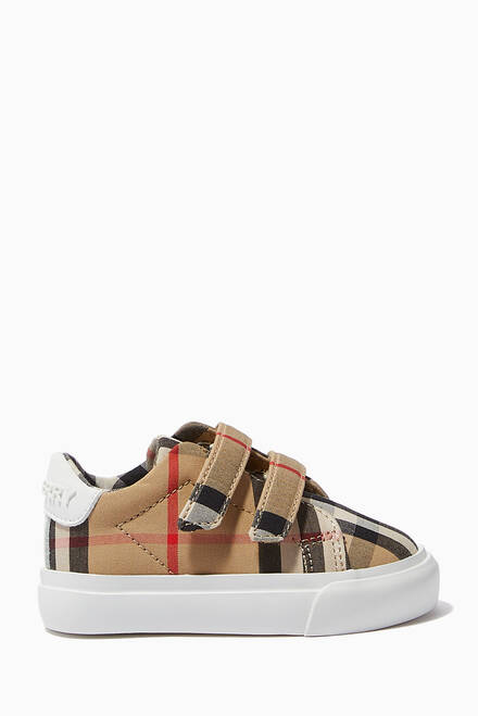 hover state of Sneakers in Vintage Check Cotton