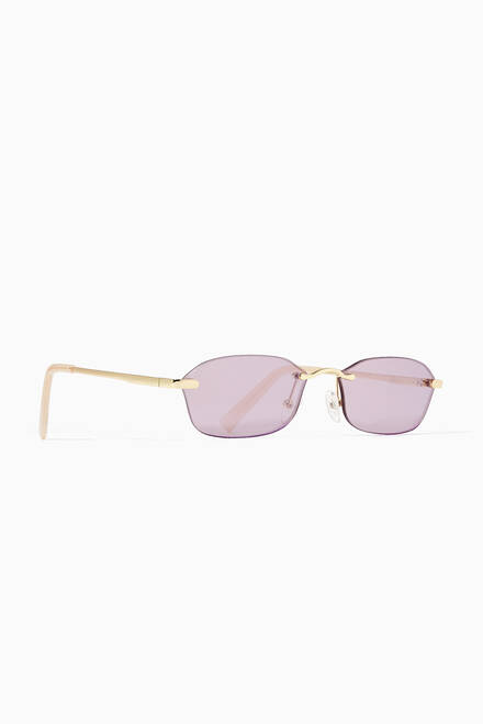 hover state of Adolfo Oval Sunglasses