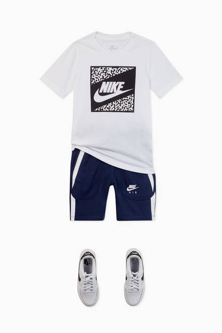 hover state of Nike Sportswear Air French Terry Shorts