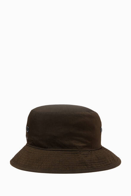 hover state of Logo Bucket Hat in Nylon