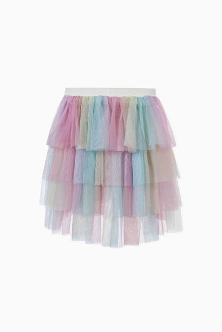 hover state of Brooke Skirt in Tulle
