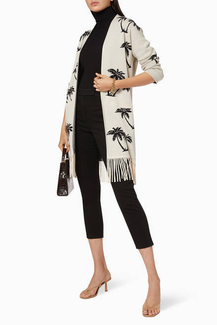 hover state of Ogam Long Line Cardigan