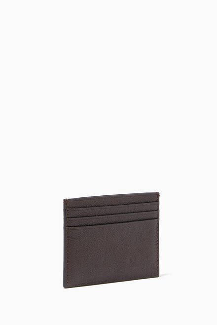 hover state of Bi-Fold Wallet in Pebble Leather