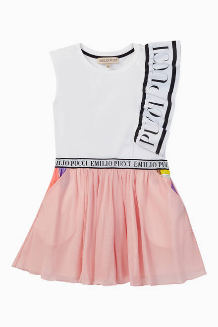 hover state of Quirimbas Print Tulle Skirt