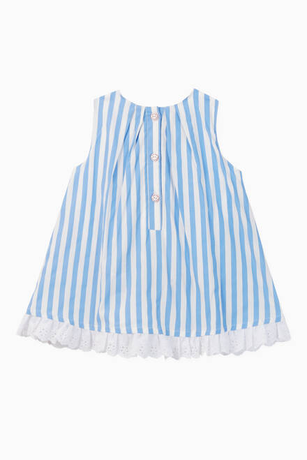 hover state of Samara Striped Poplin Dress