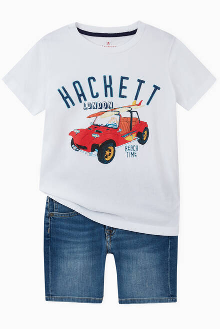 hover state of Hackett Denim Shorts