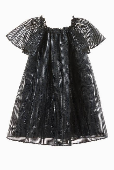 hover state of Textured Frill Dress