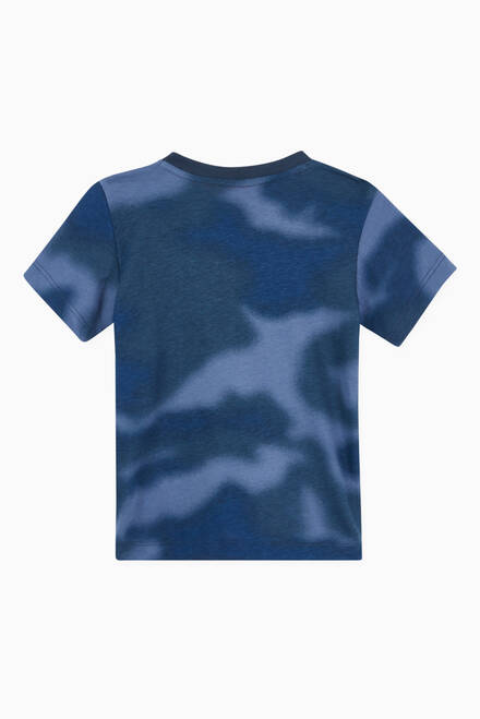 hover state of Allover Print Camo Jersey T-shirt