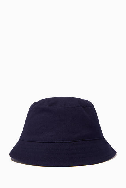 hover state of Logo Bucket Hat in Twill