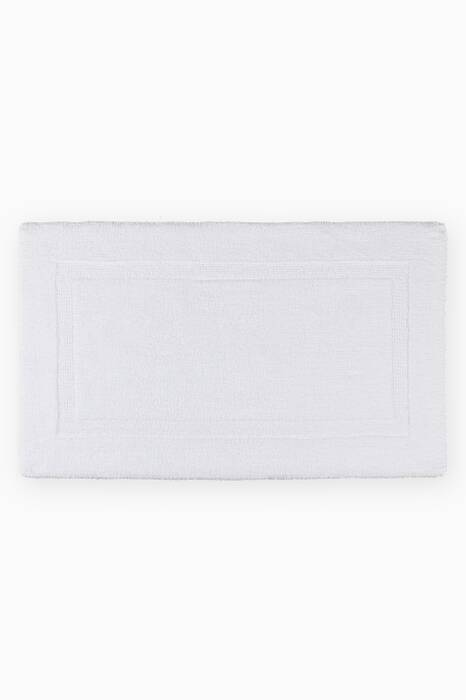 White Large Reversible Bath Mat