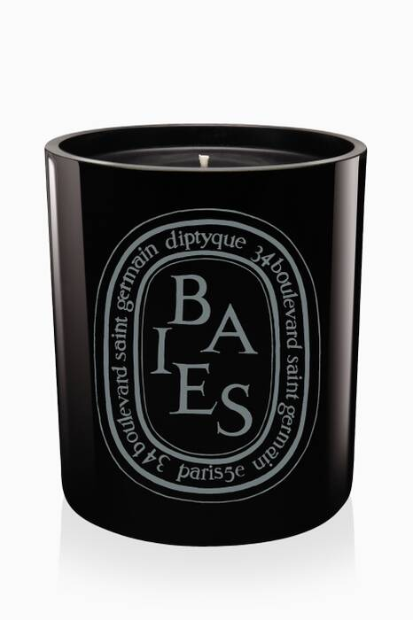 Black Baies Candle, 300g