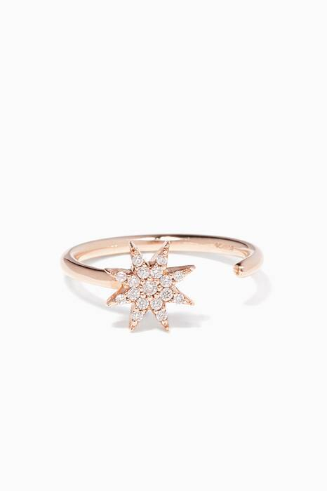 Diamond Istar Star Midi Ring