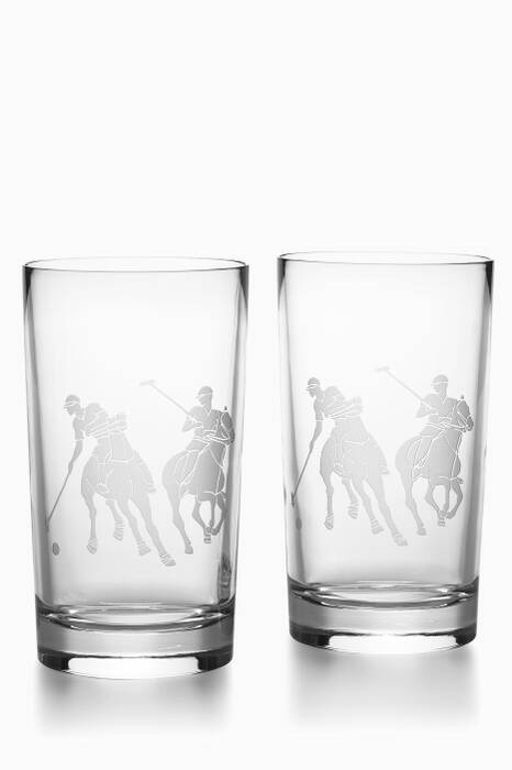 Clear Garrett Highball Tumbler Set