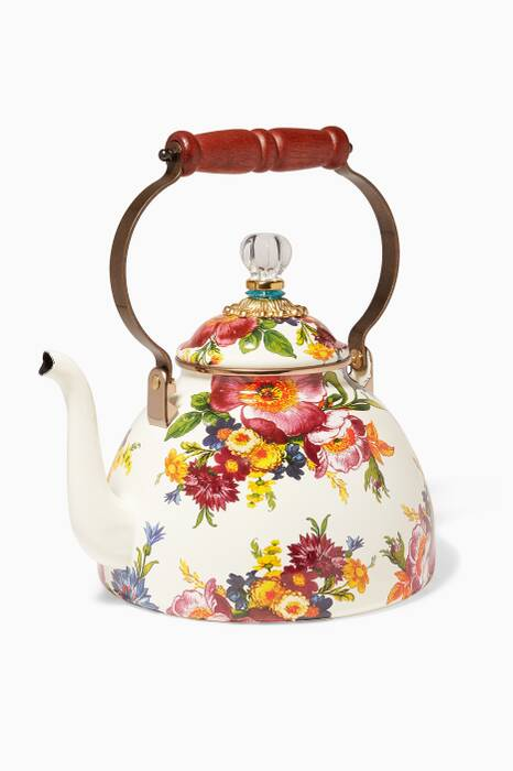 3 Quart Flower Market Tea Kettle