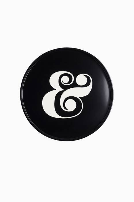 Onyx Ampersand Side Table