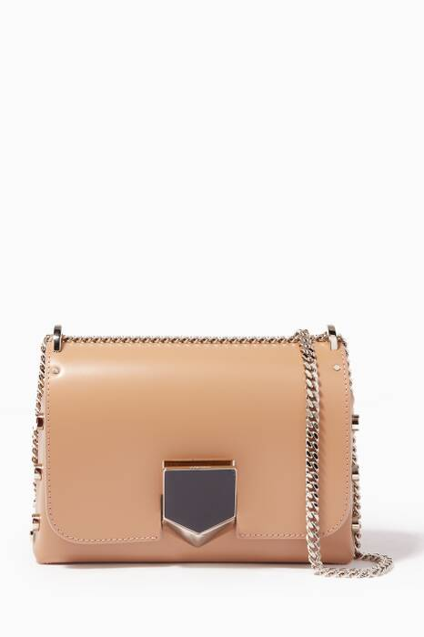 Nude & Chrome Lockett Petite Shoulder Bag