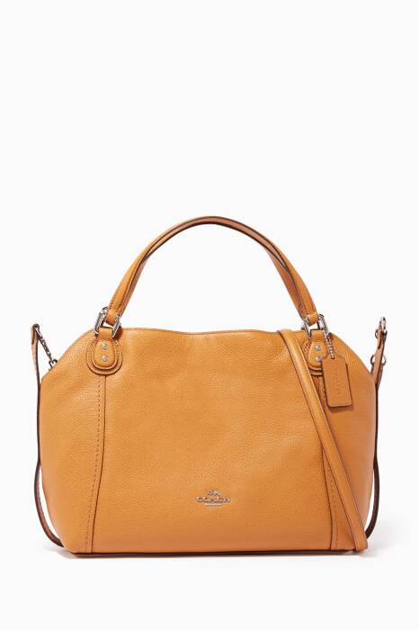 Brown Edie 28 Shoulder Bag