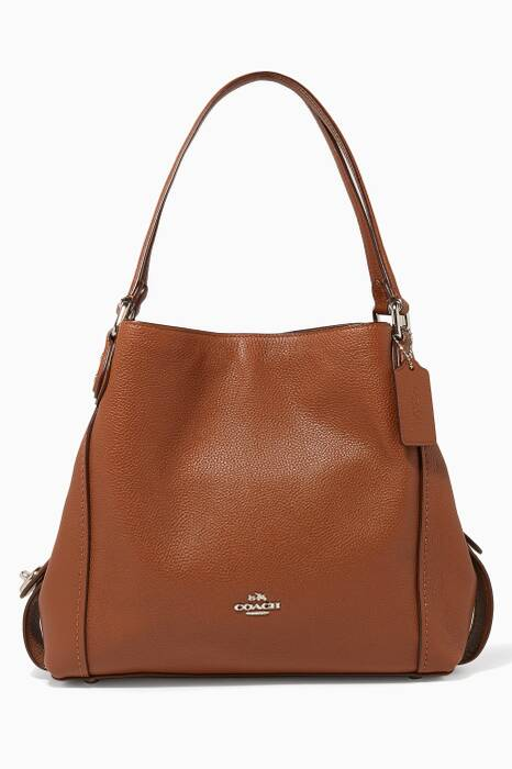 Brown Edie Shoulder Bag 31