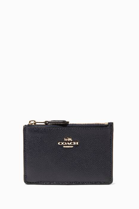 Navy Mini Skinny ID Case
