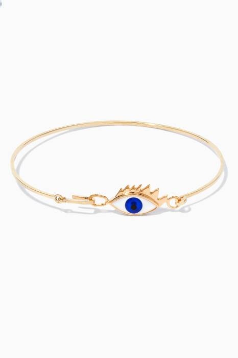 Gold Grandma Eyes On Me Bracelet