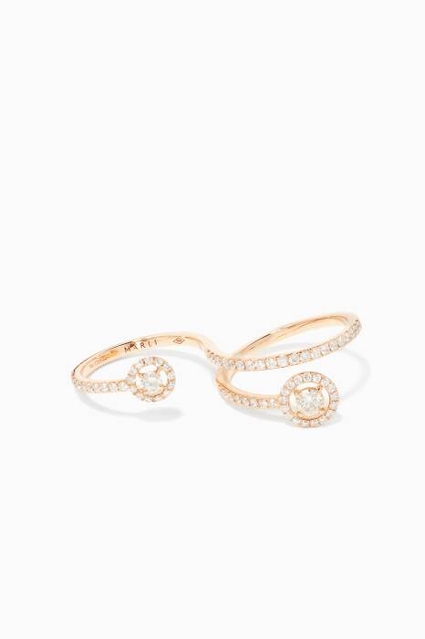 Rose-Gold & Diamond Fifi Ring