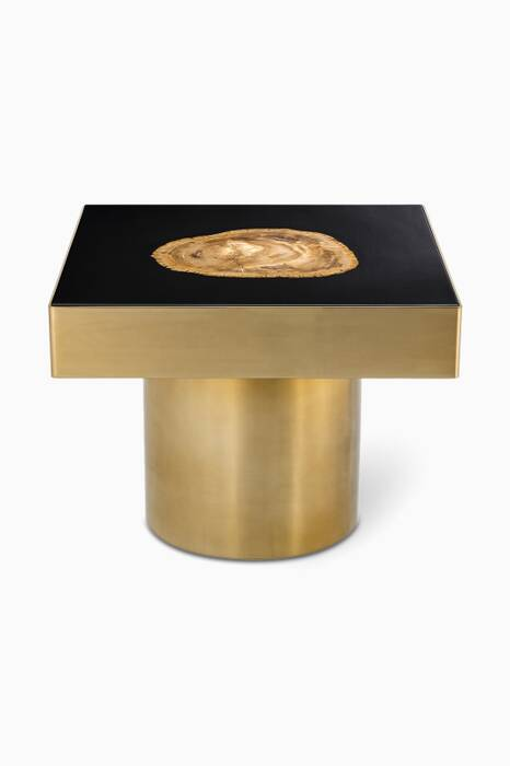 Gold Finish Villièrs Side Table