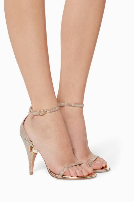 Gold Penelope Pearl Sandals