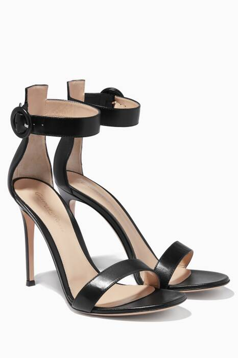 Black Portofino Sandals