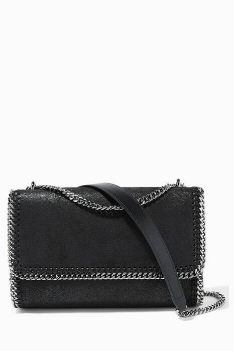 Black Falabella Shaggy Deer Shoulder Bag