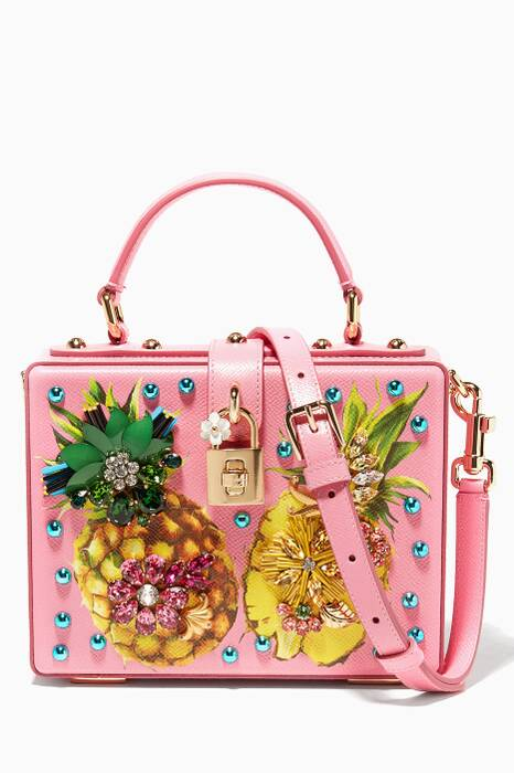 Ananas Dolce Box Bag