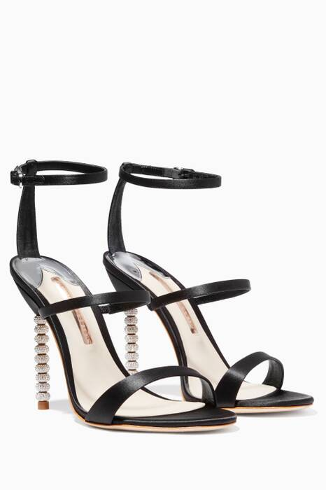 Rosalind Black Sandals