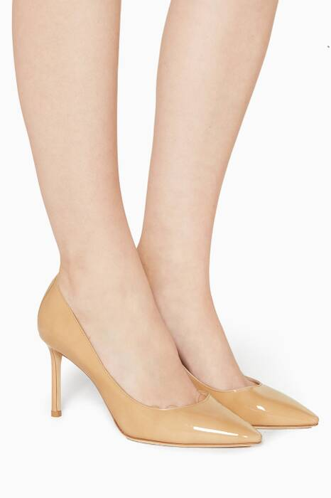 Natural Romy Pumps