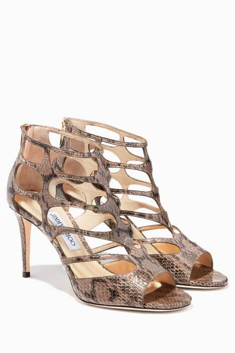 Ren 85 Light Mocha Leather Sandals